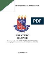 Estatuto-UNEB-2012