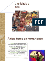 AFRICA, Unidade e Diversidade