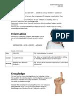 Information& Data