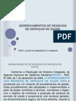 GERENCIAMENTOS DE RESIDUOS DE SERVIÇOS DE SAÚDE