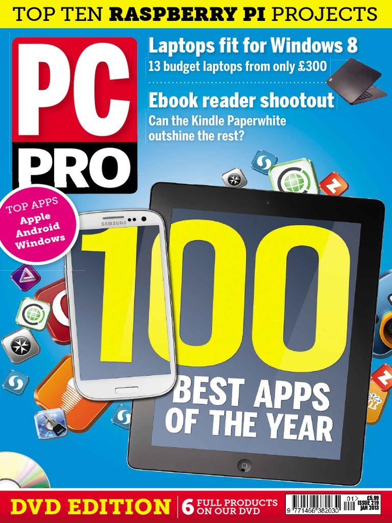 PC Pro 2013-01-Print Robdown com | Windows 8 | Tablet Computer