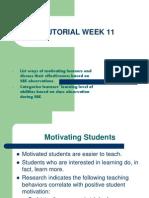 Tutorial Week 11