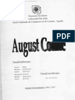 Sociologie - August Compte