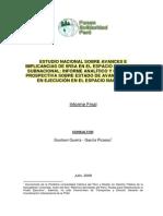 Estudio Nacional IIRSA Avances 2008 Especialista Varios Ejes