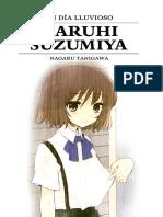 Nagaru Tanigawa - Un día lluvioso