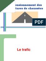 Cours EHTP - dimensionnement des structures de chaussées - Trafic