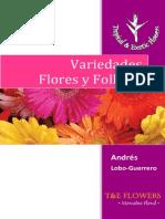 Variedades Flores Follajes