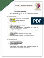 Historia Clinica Infarto