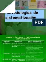 Metodologias de Sistematizacion