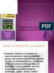 DV Awareness by Supreme Clientele Travel