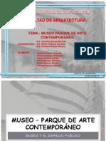 Museo – parque de arte contemporáneo