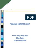 Tuning_2004_Educacion Superior en Chile