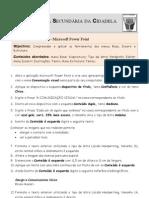 Ficha de Trabalho ITIC Power Point N-1
