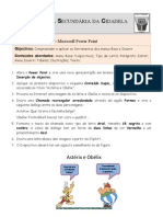 Ficha de Trabalho ITIC Power Point N-4