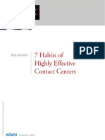 CaseStudy Egain Whitepaper 7habits Effective Contact Centers
