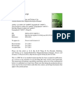 Principle Modelling and Testing of an Annular Radial Duct MR Damper
