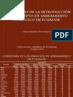 Experiencias Sanitario Ecologico Ecuador