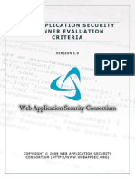 Web+Application+Security+Scanner+Evaluation+Criteria+ +Version+1.0