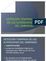 61402625 Deteccion Temprana de Las Alteraciones Del Embarazo