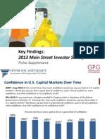 CA q Pulse Poll 2013