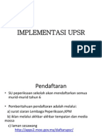 IMPLEMENTASI UPSR