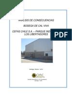 Analisis Concecuencias Bodega Cal Viva