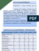 METALES ALCALINOTRREOS