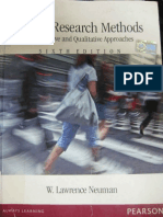 Social Research Methods Neuman 1