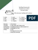 spellinghwoct8-11