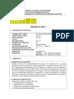 MC654 Silabo