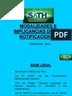 Criterios, Modalidades e Implicancias de Las Notificaciones.ppt