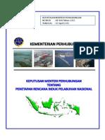 KP 414 Tahun 2013 Ttg Rencana Induk Pelabuhan Nasional