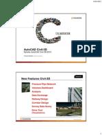 D10 AutoCAD Civil3D Nyheter i 2013 Og Novapoint Civiltools