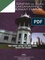 Konsep Sumpah (Al-Yamin) Dan Pelaksanaannya Di Makhamah Syariah2