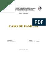 Caso de Familia - Leiden Rojas