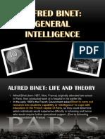 alfred binet - general intelligence