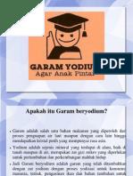 Ppt Garam Yodium Sd