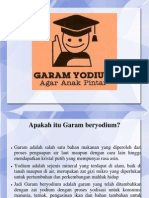 Ppt Garam Yodium Sd