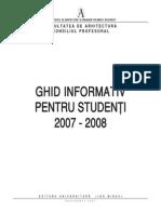 00 Ghid Stud ARHIT 07-08