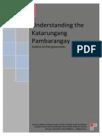 21200493 Understanding the Katarungang Pambarangay