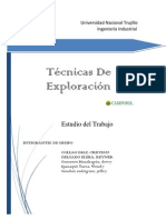 Tecnicas de Exploracion
