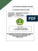 (BKD) Pedoman Praktek Gerontik II Malang 2013