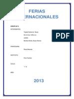 Ferias. Monografía