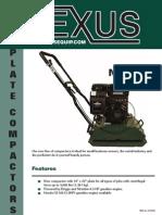 Plate Compactor Nexxus