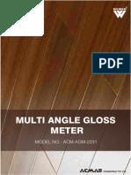 Multi Angle Gloss Meter
