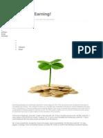 Saving vs Earnings