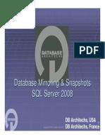 Db Mirroring