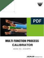 Multi Function Process Calibrator