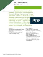 VMware vSphere-Install Configure Manage HH627S