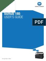 Bizhub 185 User Guide